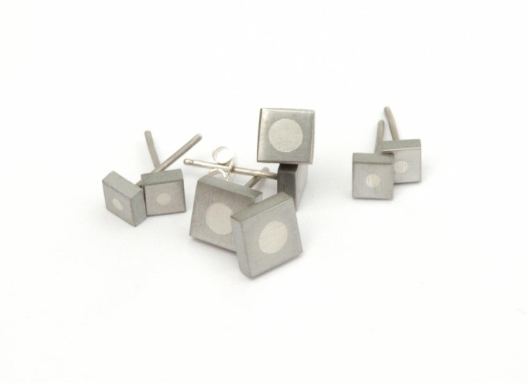 square studs collection